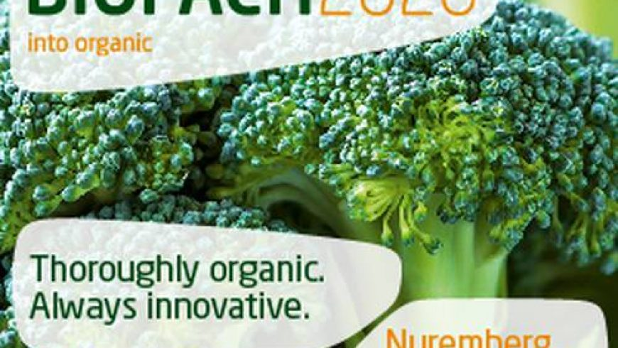 BIOFACH 2020 – WORLD´S LEADING TRADE FAIR FOR ORGANIC FOOD