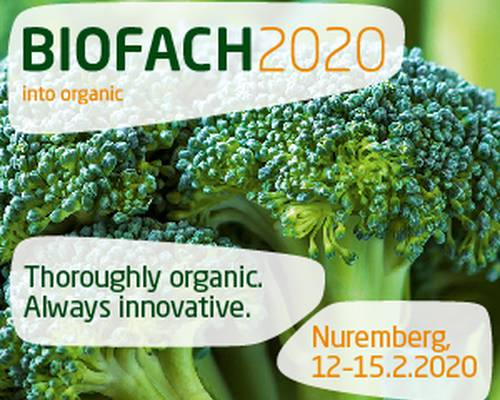 BIOFACH 2020 – WORLD´S LEADING TRADE FAIR FOR ORGANIC FOOD
